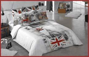 cama-con-ropa-de-hogar